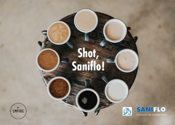 Shot Saniflo – Double shot!