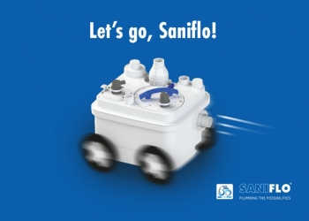 Saniflo makes you mobile!
